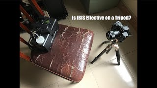 Should You Use IBIS When Camera Is Mounted on Tripod?