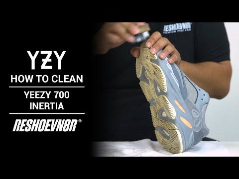How to Clean Yeezy Boost 700 Inertia with RESHOEVN8R