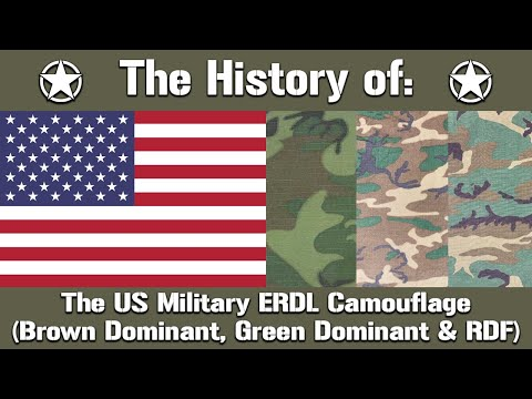The History Of: The US Military ERDL Camouflage (Brown And Green Dominant & RDF) | Uniform History