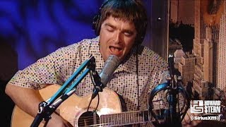 "Gambar cover Noel Gallagher ""Don't Look Back in Anger"" (Acoustic) on the Howard Stern Show in 1997"