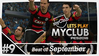 PES 2016 myClub #9 BEST OF SEPTEMBER CUP PART 2!