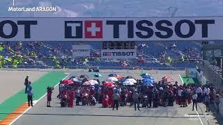 Live 📡: #MotoGP race build up at the #AragonGP 🏁 screenshot 2