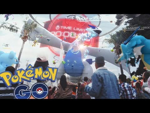 LEGENDARIOS EN POKEMON GO! VÍDEO REACCIÓN