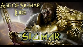 Age of Sigmar Lore: Sigmar