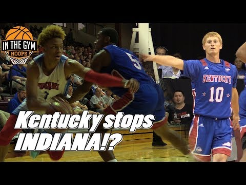 watch 90d76 88bc9 IU Commit Romeo Langford BRINGS The House Down! Kentucky ...