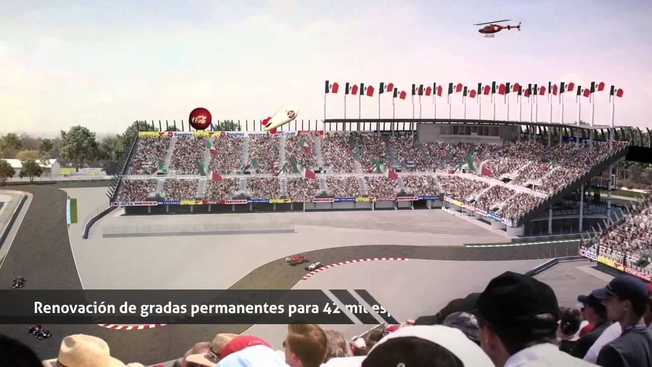 Proyecto f rmula 1 m xico 2015 aut dromo hnos rodr guez for Puerta 2 autodromo hermanos rodriguez