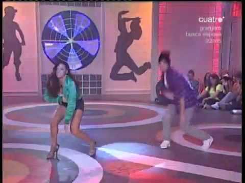 Coreo Wiki y Virginia Comercial dance Fama a Bailar 07 de octubre 2009