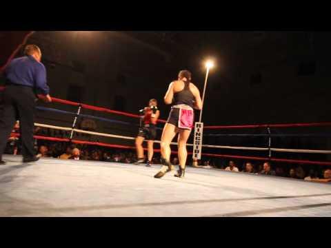 #3 Teresa Perozzi April Ward Fight Night XIV Bermuda March 10 2012