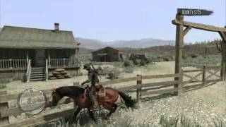 Red Dead Redemption (PS3) - Random Gameplay - Killing spree 1 (10/16/10)