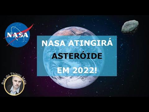 NASA atingirá asteroide de 800 metros em 2022.