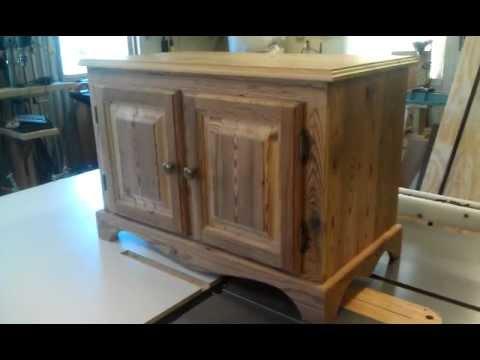 Homemade Gun Cabinet Part 3 - YouTube