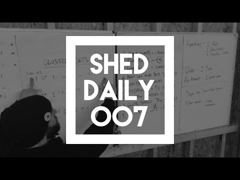 Get More Work Done With Cluster Sets | Shed Daily 007