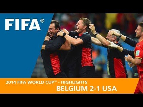 Belgium v USA | 2014 FIFA World Cup | Match Highlights