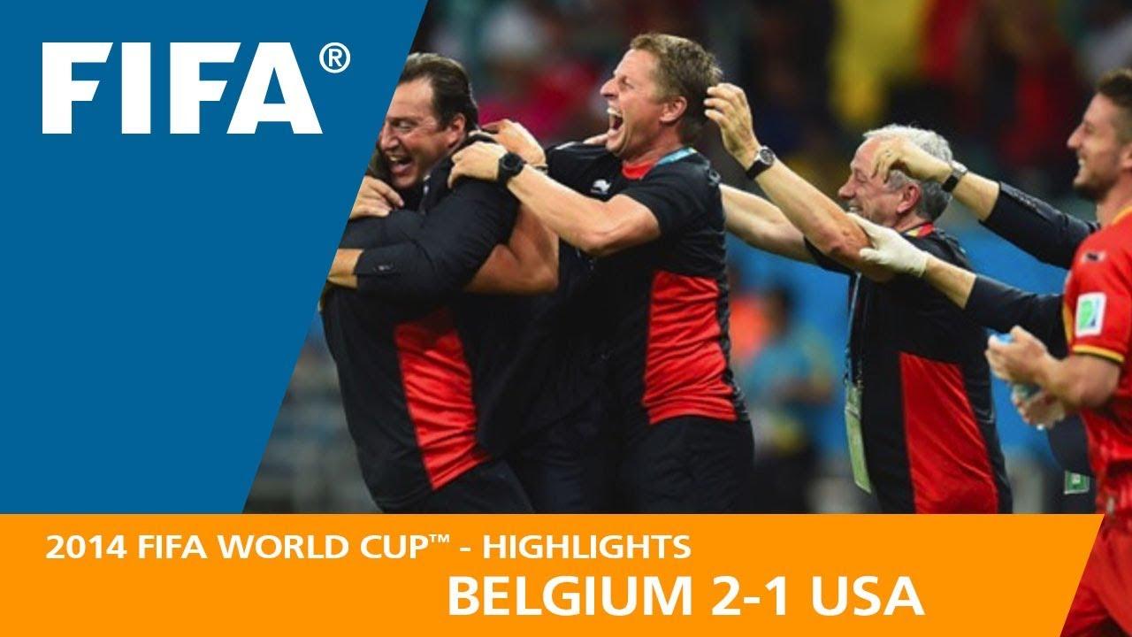 belgium v usa 2 1 2014 fifa world cup youtube