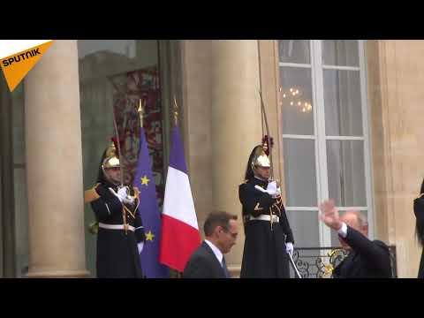 11-novembre: Trump et Poutine sont arrivés à l'Élysée pour un dîner officiel