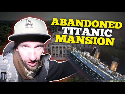 ABANDONED MANSION OF TITANIC OWNER // LOOK WHAT WE FOUND INSIDE!!