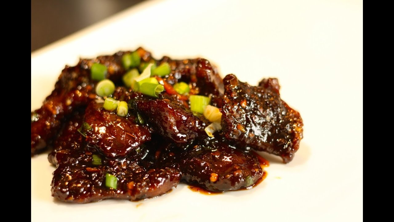 how to cook crispy ginger beef