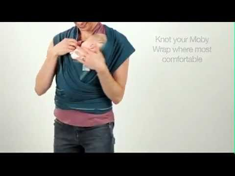 Moby Wrap Kangaroo Wrap And Hold Instructions Youtube