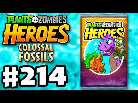 COLOSSAL FOSSILS! 50 New Cards! - Plants vs. Zombies: Heroes - Gameplay Walkthrough Part 214