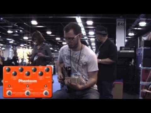 Tom Quayle plays the ToadWorks Phantasm - NAMM 2010