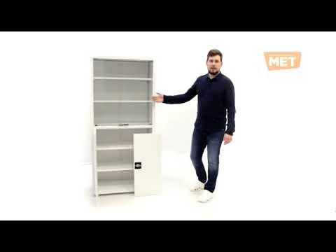 Обзор модульного металлического шкафа МЕТ Валентия 2СМ