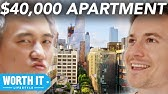$1,700 Apartment Vs. $40,000 Apartment
