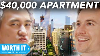 Video $1,700 Apartment Vs. $40,000 Apartment download MP3, 3GP, MP4, WEBM, AVI, FLV Februari 2018