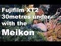 Taking the Fujifilm xt2 30m under the Arabian Gulf