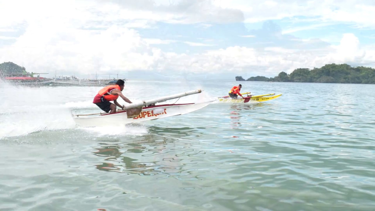 small boat bangka race philippines slideshow youtube