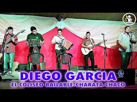 DIEGO GARCIA - 100% CHAMAME - EL COLISEO BAILABLE