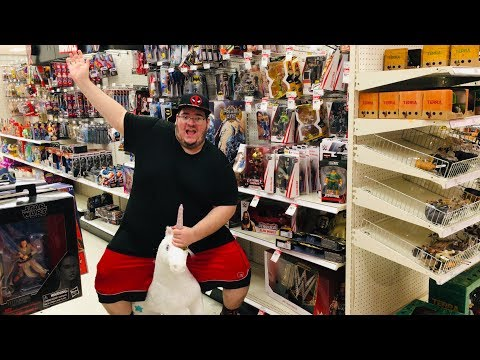 WWE TOY HUNT W/ SPECIAL GUESTS + APPEARANCES FROM MATT AND JEFF HARDY