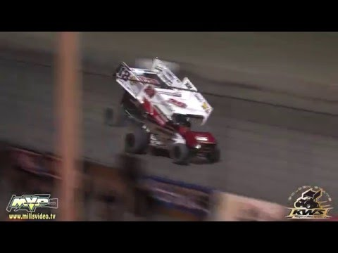 May 14, 2016 - King of the West Sprint Cars - Thunderbowl Raceway  Highlights