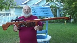 how to build a slingshot rifle
