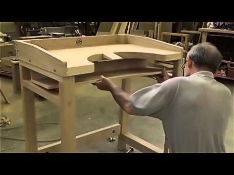 A Jeweller's bench designed for craftsmen