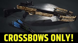 WILD NEW MODE \\ PUBG NEW EVENT MODE - CROSSBOWS AND MELEE !