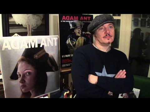 Ask Adam - Adam Ant answers questions sent in from fans (Part 4 of 6)