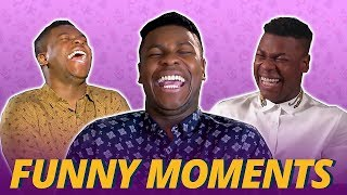 John Boyega Will Crack You Up (Try Not To Laugh) - Pacific Rim 2