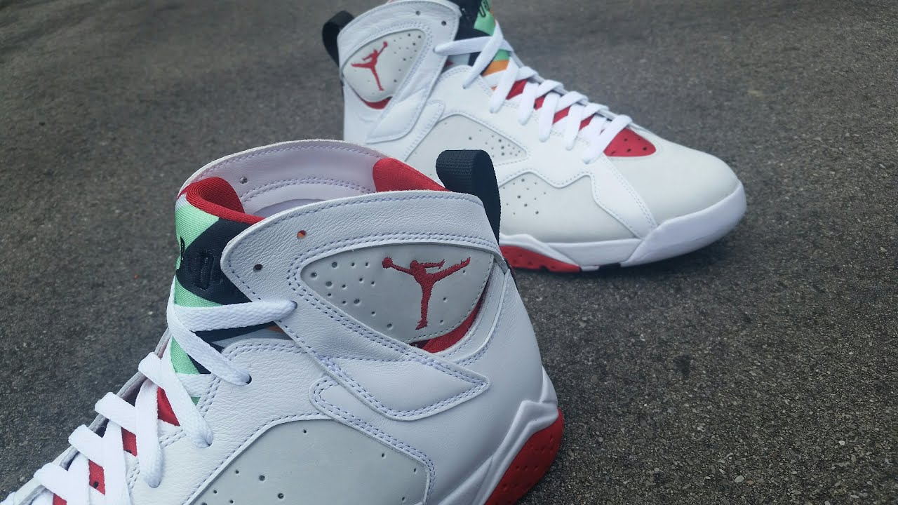 4fe9b 93785  closeout air jordan retro 7 hare colorway unboxing and review  youtube c7118 86dbe d40c11804