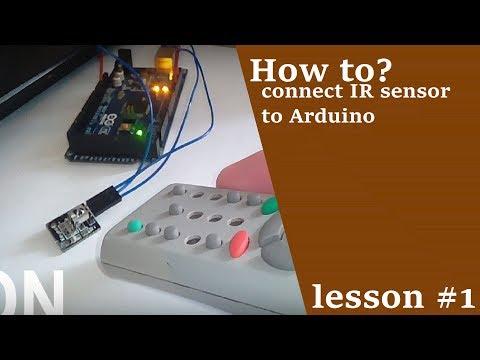 HOW TO CONNECT IR SENSOR TO ARDUINO? | DIY | ARDUINO LESSONS