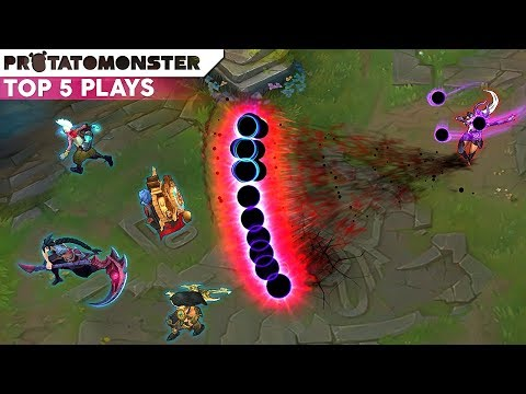 Unleashing The Power Of A Master's Syndra  | League of Legends Top 5 Plays