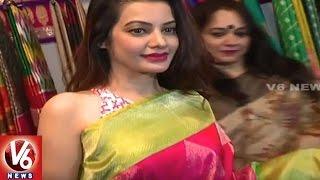 Actress Deeksha Panth Launches Designers Expo in Taj Krishna | Hyderabad | V6 News