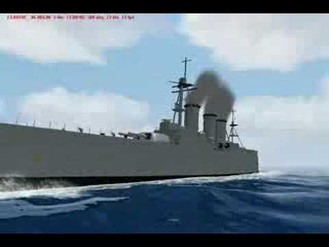 Virtual Sailor - Battleship Averof