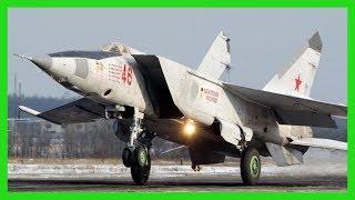 獵殺鬼怪,不敵雄貓:米格-25狐蝠戰鬥機中東征戰記