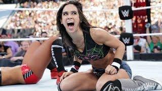 10 WWE Divas Who BROKE CHARACTER on Live TV