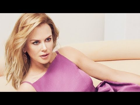 At the Cover Shoot With Nicole Kidman