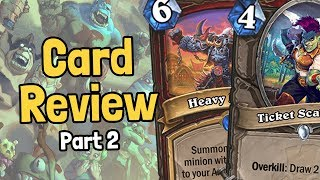 New Warrior & Overkill Cards - Rastakhan Review Part 2 - Hearthstone