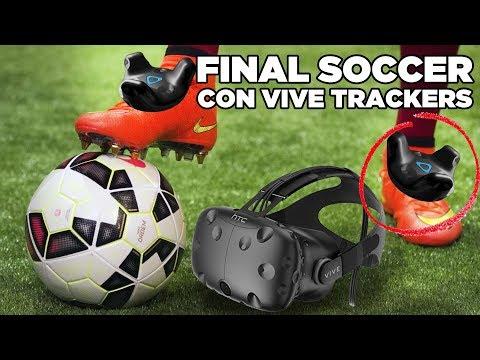 VIVE TRACKERS!! Jugamos al fútbol en Realidad Virtual en DELTA3