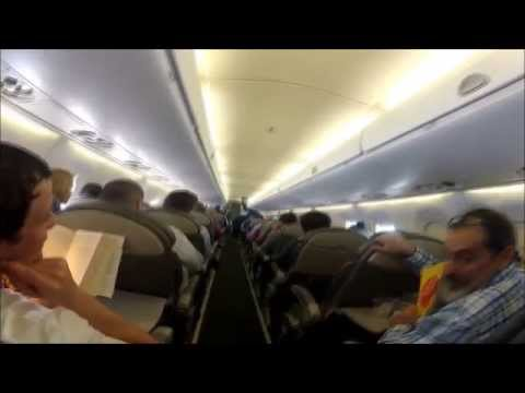 The Most Romantic Surprise Airplane Proposal - US Airways Crew and Pilot Stage Scene