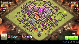 Clash of Clans - Penta Laloon - TH10 vs TH10