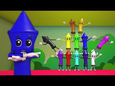 colori canzone   impara i colori   educativa canzone   apprendimento video   Crayons Colors Song